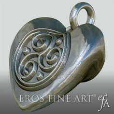 Herzanhänger Triskele Heart -  exklusiver, extravaganter, erotischer Silberanhänger - Herzanhänger - BDSM, Triskele  https://www.etsy.com/de/listing/215529710/herzanhanger-triskele-heart-exklusiver?ref=shop_home_active_18&utm_content=buffer27bd3&utm_medium=social&utm_source=pinterest.com&utm_campaign=buffer #Herz #heart #ErosFineArt #love #erotic #Silver #jewelry #jewellery #BDSM #Fetish #Fetisch