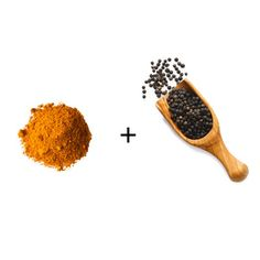 If you pair turmeric with piperine (found in black pepper), it improves the bioavailability of curcumin by 1000 times