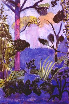 Henri Matisse (I always associate Matisse with purple - he did amazing things with it)