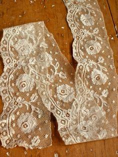 vintage fillet lace