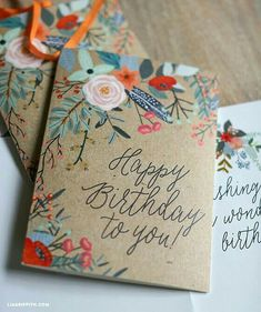 Floral craft Idea - using cardboard card stock