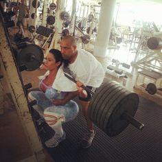 Gracyanne Barbosa puso en la foto gimnasio