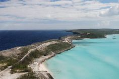 50 miles east of Nassau in the Bahamas, this certainly seems like a worthwhile place to stop by.