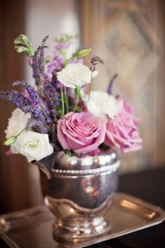 @ style me pretty Wise Wise Hendershot Gardens Floral and Wedding Stylist Rose Centerpieces, Centerpiece Decorations, Flower Decorations, Wedding Decorations, Reception Table Design, Reception Ideas, Bridal Shower Tables, Flowers In Jars, Kansas City Wedding