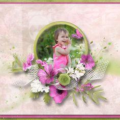 Fresh Start, Layout Design, Layouts, Floral Wreath, Scrap, Anna, Wreaths, Home Decor, Floral Crown