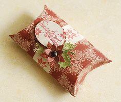 Galeria Papieru: Pillow box - krok po kroku