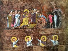 Risurrezione di Lazzaro Codex Purpureus Rossanensis - Codex Rossanensis - Wikipedia