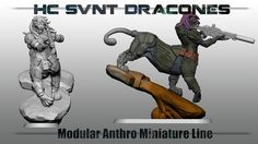 Help create a custom anthro urban/scifi miniatures line, compatible with 30mm scale minis for war games, tabletop RPGs, and painting!