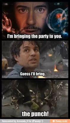 Ironman and Hulk, Avengers