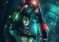 Filename: games, wallpaper Resolution: File size: 566 kb Uploaded: Patrick Washington Date: Canvas Poster, Poster Prints, Bioshock Game, Female Demons, Video Games Girls, Latest Hd Wallpapers, Character Wallpaper, Cyberpunk 2077, Female Anime