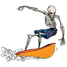 skeleton surf art - Google Search