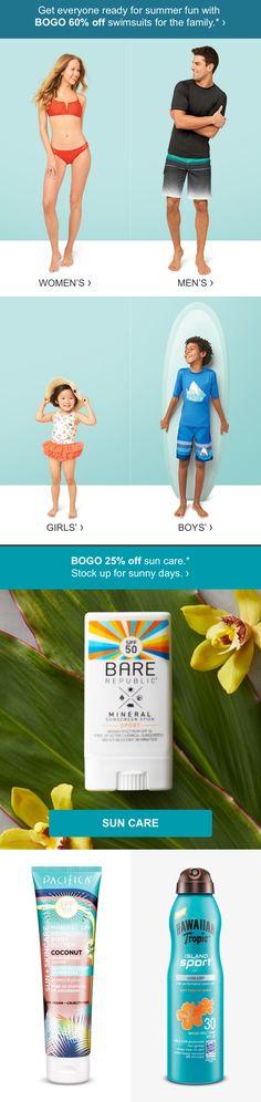 BOGO deals are getting big (like BOGO 60% off swim big). #targetstyle