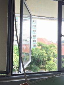 Magnetic Fly Screens Are Ideal For Hard To Screen Windows