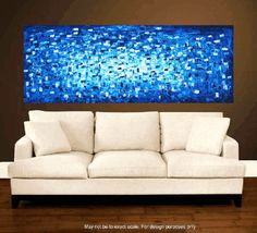 72x30 art painting large painting abstract painting by jolinaanthony, $369.00