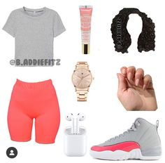 Boujee Outfits, Cute Lazy Outfits, Baddie Outfits Casual, Swag Outfits For Girls, Teenage Girl Outfits, Cute Swag Outfits, Girls Fashion Clothes, Teen Fashion Outfits, Retro Outfits