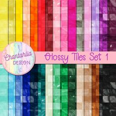 Free glossy tile digital papers in 36 colours. Use them in your digital scrapbooking or other digital crafts or print them for card making or other paper crafts. Digital Scrapbooking Freebies, Digital Papers, 12x12 Scrapbook Paper, Borders For Paper, Printable Paper, Free Paper, Journal Cards, Paper Design, Planner Stickers
