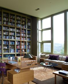 9 Beautiful Bookshelves