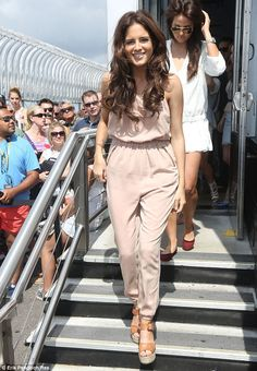 NYC adventure: Binky Felstead and the cast of Made In Chelsea put on a rather impressive s...