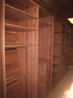 High Quality Cedar Closets! A Must Have For Our Forever Home!