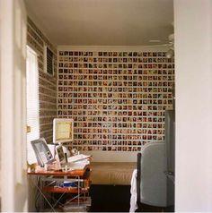 polaroid accented walls