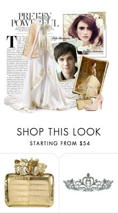 """""""The Crown (The Selection Series)"""" by fashionistlady ❤ liked on Polyvore featuring Dolce&Gabbana, Nancy Gonzalez, Kate Marie and Christian Louboutin"""
