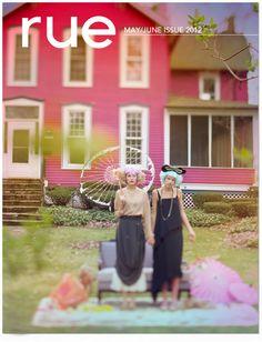 Rue magazine - home furnishing/decorating information, and fashion.