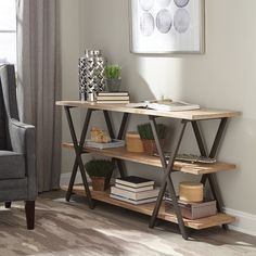 Shop Coaster Fine Furniture  950712 Donny Osmond Home Florence X-Style Console Table at The Mine. Browse our sofa tables, all with free shipping and best price guaranteed.