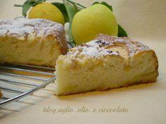 torta di mele con albumi e limone