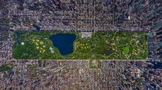Aerial photo of Central Park - so cool!  http://www.geekologie.com/2013/01/3-d-picture-of-central-park-viewed-direc.php