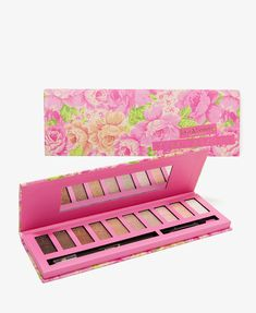 This pastel eyeshadow palette will keep you looking fresh all through your date!