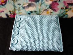 crocheted heating pad