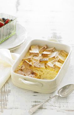 Queen Vanilla Gluten Free Bread and Butter Pudding