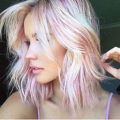A #flashbackfriday from @chontelleberryman that has us all sorts of tickled pink! #modernsalon created by @glamhairartist BRAVOOOOOO!