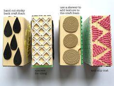 Gelli® Printing Fun With Texture Blocks | Printing with Gelli Arts® | Bloglovin'