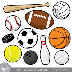 sports border clip art five different sport balls border frame rh pinterest com sports clip art border sports clipart background
