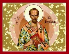 Memorial of Saint John Chrysostom, Bishop and Doctor of the Church It is far easier to subdue and conquer an angry person by silence and yielding, than by answering. Angry Person, John Chrysostom, Orthodox Christianity, Catholic Saints, Orthodox Icons, Winter Activities, Christian Art, Jesus Christ, Pray