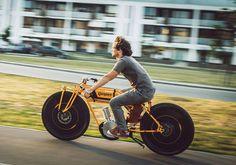 Vintage Electric Bike Kosynier Boardtrack - World of Motor Bobber Motorcycle, Motorcycle Engine, Cool Motorcycles, Motorcycle Design, Bicicletas Raleigh, Electric Cycle, Motorised Bike, Scooter Bike, Motorized Bicycle