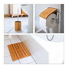 Bambus Vorleger Badezimmer   Slagerijstok