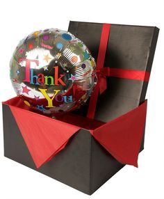 Thinking of doing random thank you gifts for employees in November, this would be simple. Open box to a helium balloon. Employee Rewards, Employee Gifts, Holiday Fashion, Holiday Style, Best Workplace, Morale Boosters, Employee Recognition, Employee Appreciation, Helium Balloons