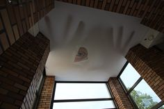 Sufit napinany TYLKO DLA ODWAŻNYCH ;) / Stretch ceiling only for courageous ;)