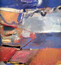 Berkeley No. 22 1954 Oil on canvas 59 x 57 in. Richard Diebenkorn