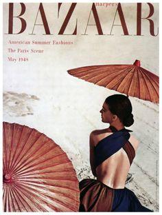 Harpers Bazaar 1948 by Louise Dahl-Wolfe