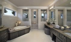 La Castille - contemporary - bathroom - other metro - Castle Harbour homes