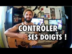 SUPER EXERCICE pour CONTRÔLER SES DOIGTS et MIEUX JOUER ! - YouTube Easy Guitar, Guitar Tips, Guitar Lessons For Beginners, Guitar Photography, Piano, Blues, Language, Learning, Youtube