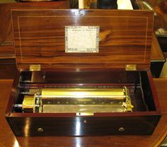 Antique Cylinder Music Boxes