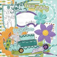 Free digital scrapbooking - fonts, pages and embelishments