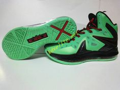 online store 08156 fbcee an aesthetic appreciation of the Nike LeBron X Elite Cutting Jade Gr Jade  China Black
