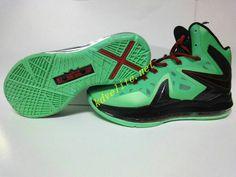 Nike Lebron X Elite Cutting Jade Gr Jade China Black Discount Nike Shoes c3f93004dad3