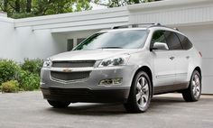 Chevrolet Traverse 2012. Sad thing about this car is; the Chevrolet Traverse 2013 will be the last of the species; and Chevrolet has decided to discontinue this model; and may be that is just the right reason why you need to get this huge crossover suv in your list reasons to buy a chevy 7 seater. Choosing the right model, you can also have an 8 seater configuration and yet be left out with ample amount of space to put in a child's bicycle in the back.
