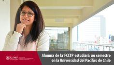 Nuestra alumna, Paloma Beoutis, estudiará un semestre en Chile. Participar en el Programa de Intercambio Académico contribuirá con su crecimiento profesional y personal.